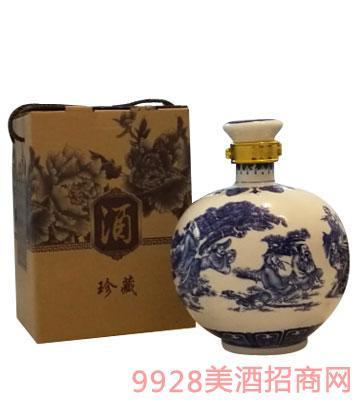 新化水酒珍藏酒(白坛)