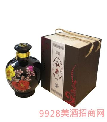 新化水酒品鉴私藏酒(黑坛)