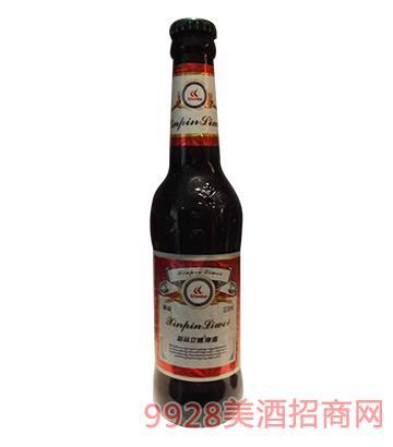 新品立威啤酒(黑啤)330ml