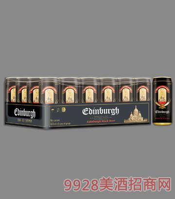 爱丁堡黑啤酒罐装11°P500mlx24