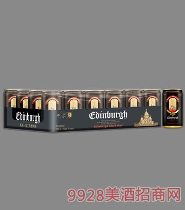 爱丁堡黑啤酒罐装11°P330mlx24