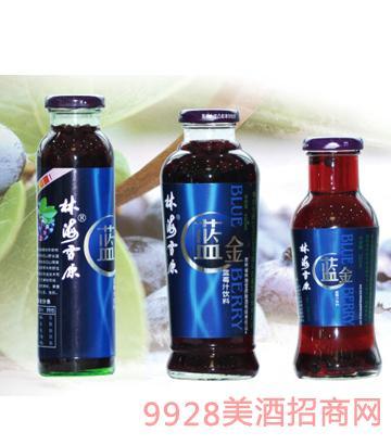 蓝金蓝莓饮料750mlx6