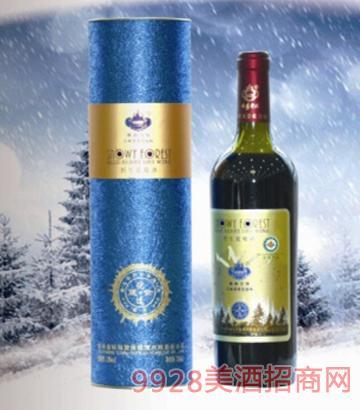 林海雪原有机蓝莓酒10度500mlx6