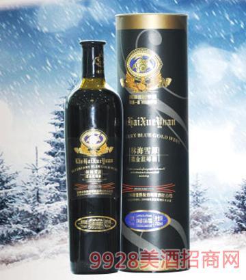 林海雪原蓝金蓝莓酒500ml