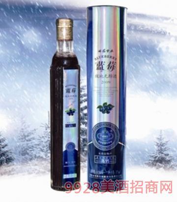 林海雪原地蓝莓酒10度500mlx6