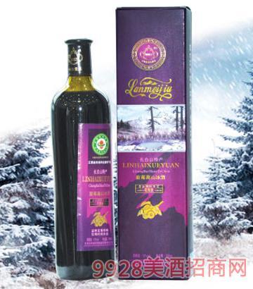 林海雪原高山蓝莓酒500ml