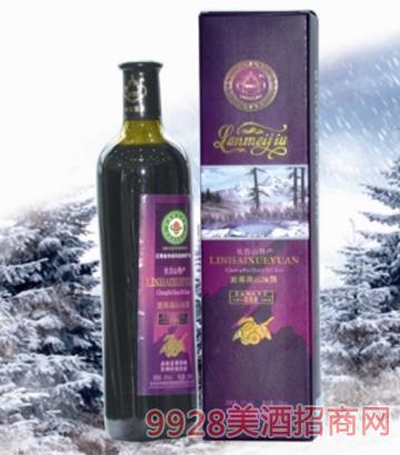 林海雪原高山蓝莓酒10度750mlx6