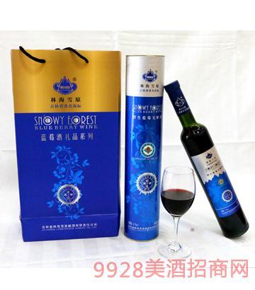 林海雪野生蓝莓无纯酒47度750ml