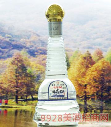 林海雪原塔瓶蓝莓酒38度42度500mlx6