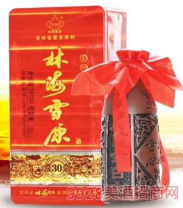 林海雪原30年紫砂窖藏酒38度42度500mlx6