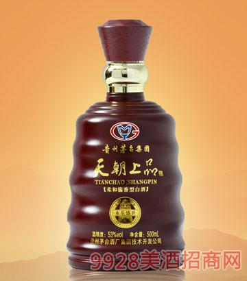 天朝上品酒永樂盛世53度500ml柔和醬香型
