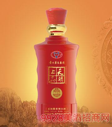 天朝上品酒中華盛世53度500ml柔和醬香型