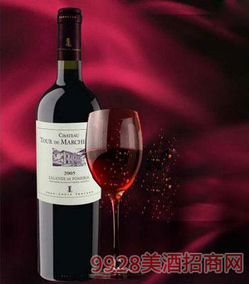 法国波尔多托卡庄园葡萄酒13.5%vol