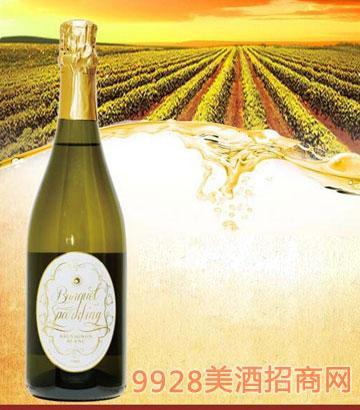 澳大利亚盛宴庄园长相思甜白汽泡酒6.8%vol
