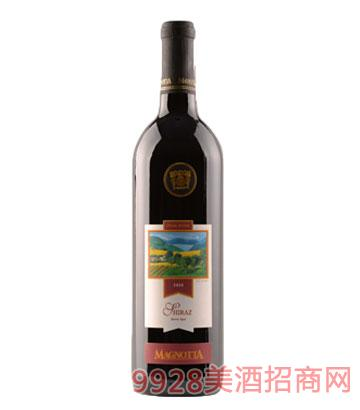 加拿大原瓶进口曼雅特金标特酿希拉干红葡萄酒14.5%vol750ml
