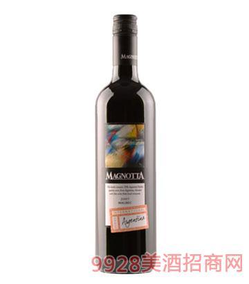 加拿大原瓶進口曼雅特國際精選阿根廷馬爾貝克干紅葡萄酒12%vol750ml