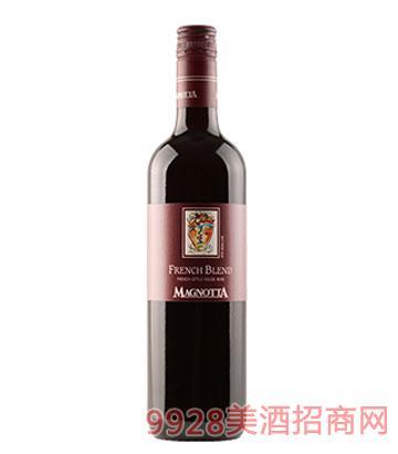 加拿大原瓶进口曼雅特精选法式混酿干红葡萄酒12%vol750ml