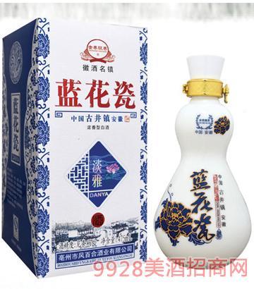 金巷坊蓝花瓷酒盛世经典52度500mlx6浓香型