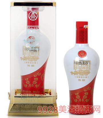 五粮液股份有限公司纳福酒彰显尊贵陈酿52度42度500mlx6浓香型