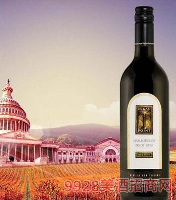 新西兰马尔堡2011黑比诺干红葡萄酒12.5%vol