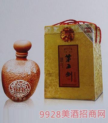 茅五剑酒酱香1958-53度2.5L