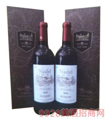 进口原装法国干红葡萄酒 13°750ml