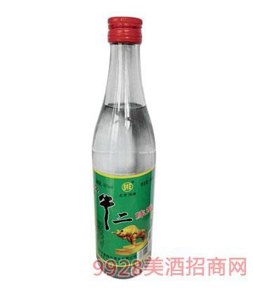 鑫牛王牛二陈酿酒42度500ml浓香型