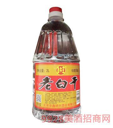 鑫牛王老白干酒65度2L清香型