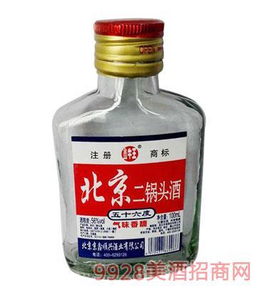 鑫牛王北京二锅头酒56度100ml清香型