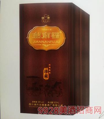 剑南福酒珍藏38度500mlx12浓香型