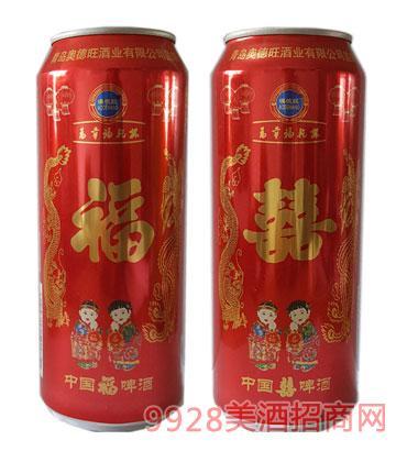 澳德旺啤酒中国福500ml  原料与辅料:水 麦芽 啤酒花等  规格:500mlx24罐  保质期:365天  饮用方法:冷藏后口味更佳