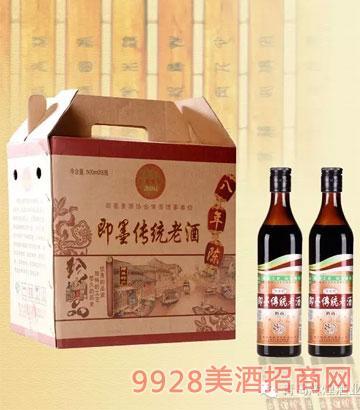 舞旗山即墨传统老酒12%vol500ml