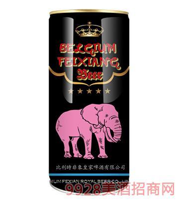比利时皇 家世涛黑啤酒1升*12桶/箱