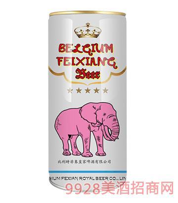 比利时非象拉格精酿啤酒1升*12桶/箱4.2度