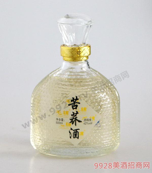 毛辅苦荞酒42度500ml