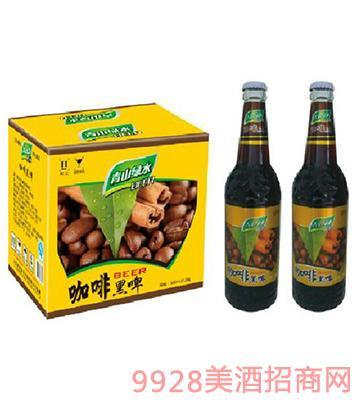 青山绿水咖啡黑啤酒500ml