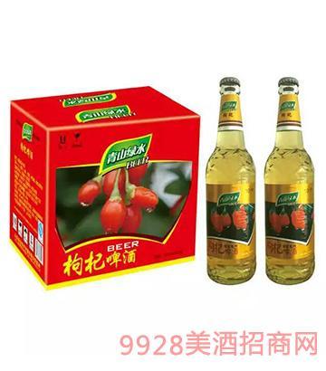 青山绿水枸杞啤酒500mlx12