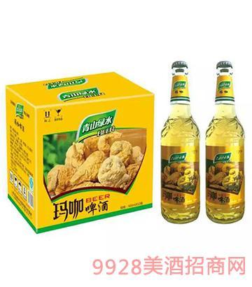 青山绿水玛咖啤酒500mlx12
