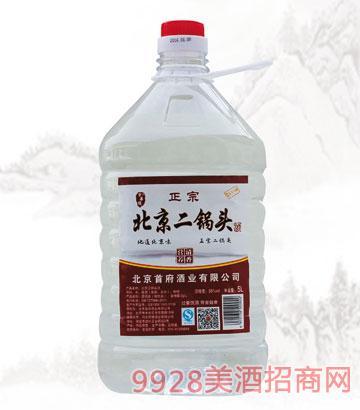 京华楼二锅头酒56度5L清香型