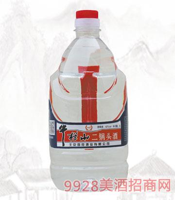 牛栏屮二锅头酒42度2L清香型