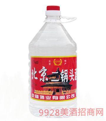 西土城北京二锅头酒42度4L清香型