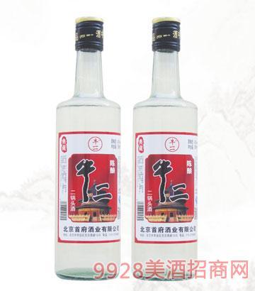 牛二陈酿二锅头酒42度500ml浓香型