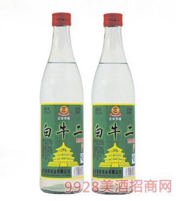 牛二娘白牛二陈酿酒42度500ml浓香型