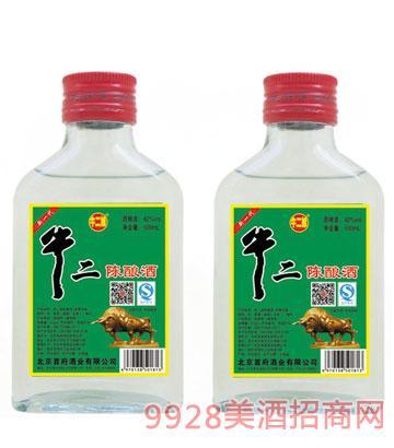 牛二娘牛二陈酿酒42度100ml浓香型