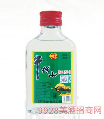 牛栏屮陈酿酒42度100ml浓香型