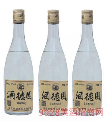 酒德园酒42度500ml浓香型