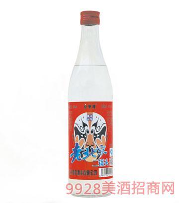 京华楼老北京二锅头酒红脸谱42度500ml清香型