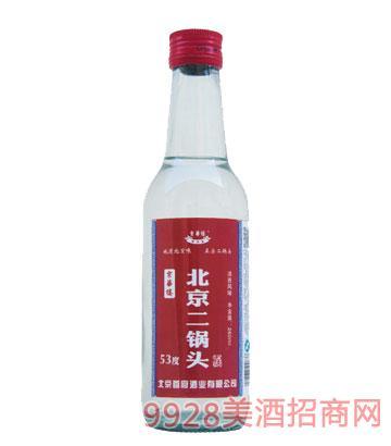 京华楼北京二锅头酒53度260ml清香型