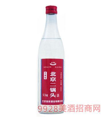 京华楼北京二锅头酒53度500ml清香型