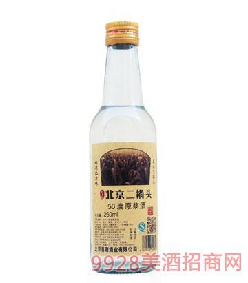 京华楼北京二锅头56度原浆酒260ml清香型
